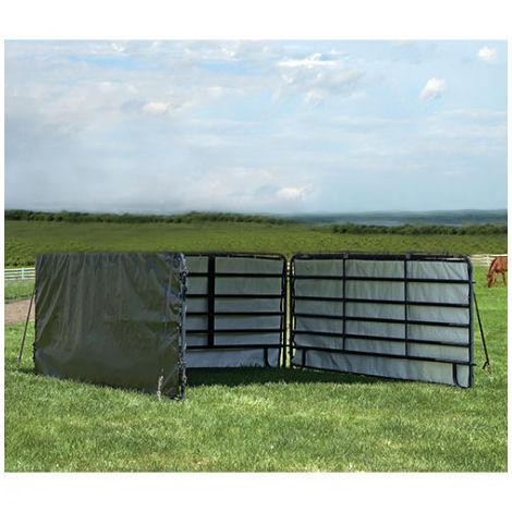 Panneaux latéraux pour box animaux - longueur : 3.70 m