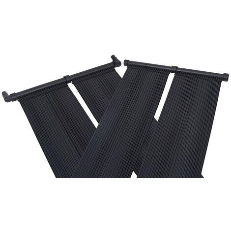 Panneaux solaires de chauffage de piscine 4 pcs 80x310 cm