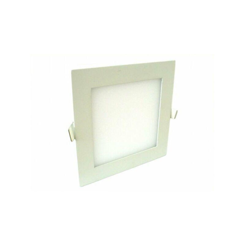 Pannello Faretto Led Da Incasso 12W Bianco Neutro Naturale Quadrato Interno Esterno - LEDLUX
