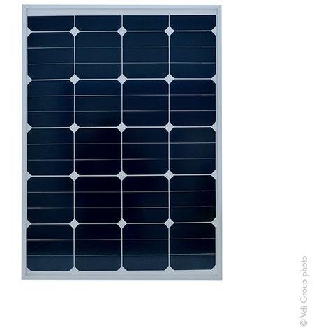 Pannello fotovoltaico rigido 75W-12V monocristallino alto rendimento