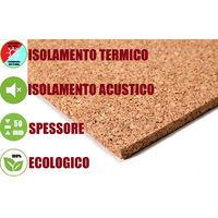 Pannello in Sughero Naturale per Isolamento Termico/Acustico-100x50x5 cm