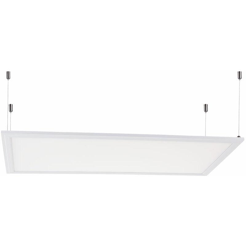 Pannello LED Ultrasottile 60x30Cm 22W 2100Lm 30.000H Cornice Bianca | Bianco Freddo (HO-PAN30060022W-MB-CW)