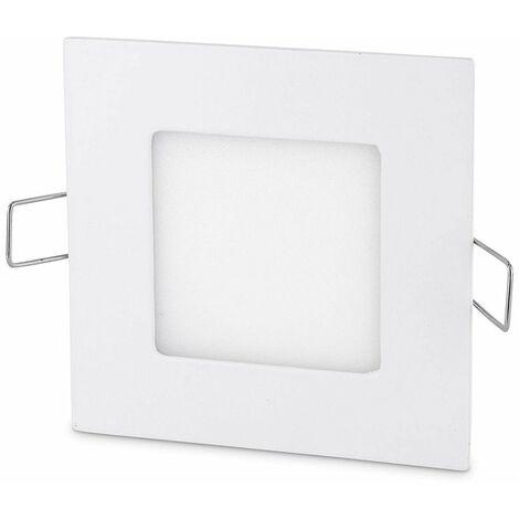 Pannello led a incasso 3w quadrato slim luce fredda faro faretto controsoffitto