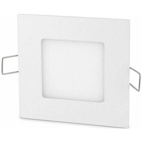 Pannello led a incasso 6w quadrato ultra slim luce fredda faro faretto soffitto