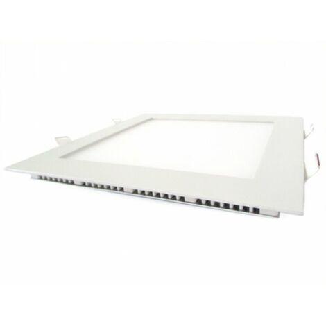 Pannello Led Plafoniera Faretto Incasso Da Soffitto Bianco Caldo 18W Quadrato 200X200mm 220V 96 Smd 2835