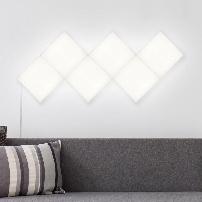 Pannello LED Quadrato 30x30cm 9.5W 800lm Estensione Bianco Naturale 4000K - 4500K - LEDKIA