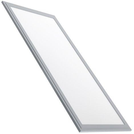 Pannello LED Slim 60x30cm 32W 3270lm Cornice Argento