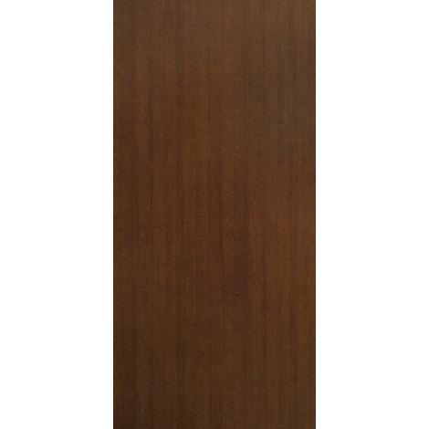 Pannello per Porta Blindata Liscio Noce Medio Naturale da interno in Laminato