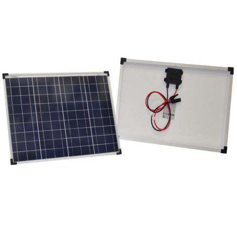 Pannello Solare Fotovoltaico | 50 Watt Policristallino
