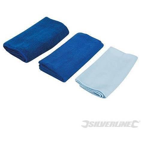 Panno Microfibra Per Asciugare L Auto.Panno In Microfibra 3 Pezzi Per Asciugare Pulizia Vetri Lucidare