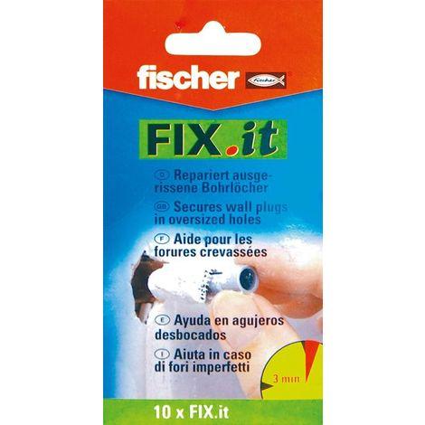 Paño grueso y suave para reparación de pescado Fix it tarjeta SB