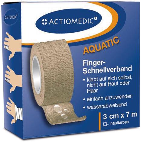 Pansement rapide AQUATIC, disponible en couleur chair ou bleu