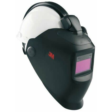Pantalla 10V con filtro y QR y con casco H701