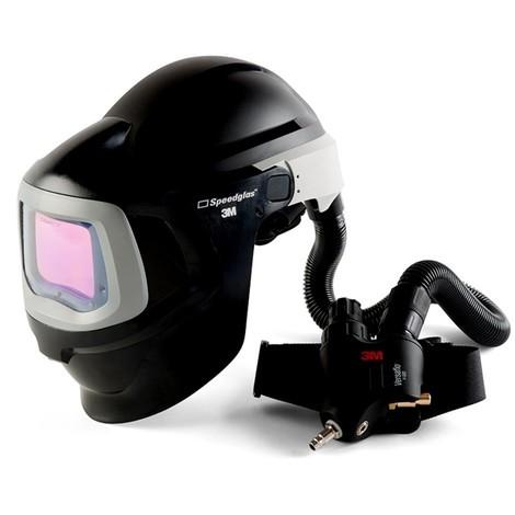 Pantalla 9100 MP Casco Soldadura Protección con 9100 Suministro Aire
