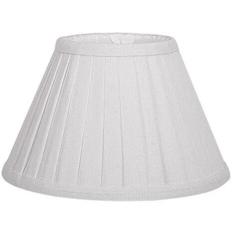 Pantalla Cónica Plisada Gracia E27 blanco 18d