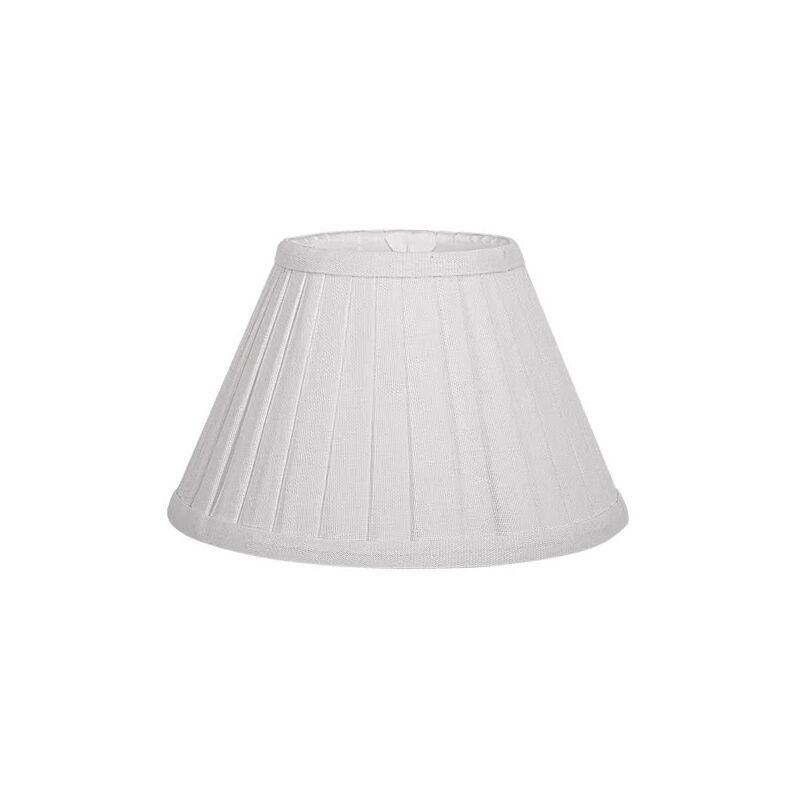 Pantalla Cónica Plisada Gracia E27 blanco 25d - 171846