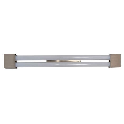 Pantalla de cocina 2 tubos LED Squared