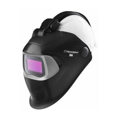 Pantalla de soldadura 100 con filtro 100V y QR y con casco de seguridad H701 - 3M Speedglas
