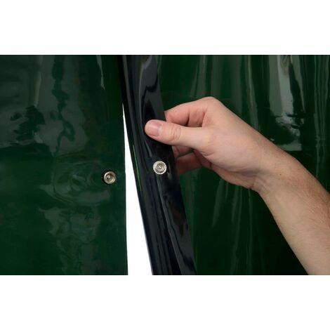 Pantalla de soldadura conectable 137x180cm (9 anillos diam. 50mm)