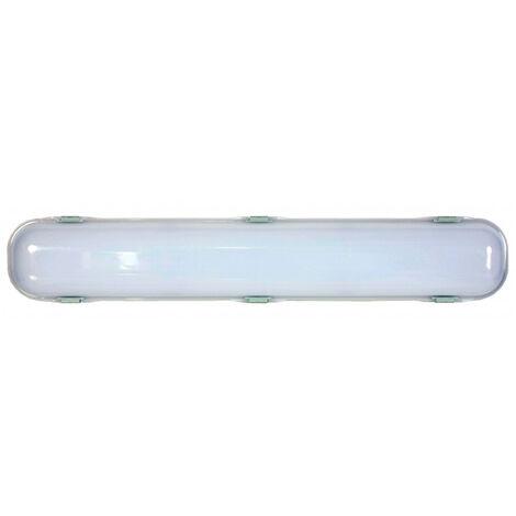 Pantalla estanca fluorescente LED