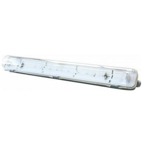 Pantalla Estanca IP65 T8 1Tubo LED 1200mm ABS