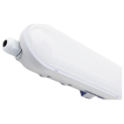 Pantalla Estanca LED 70w 150cm Vise Blanca 6000k Luz Fría Resistente a la intemperie Ip65 382156