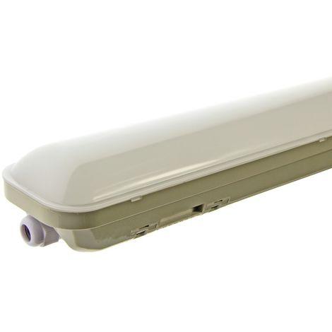 Pantalla estanca LED integrado 150cm 48W 4000lm IP65
