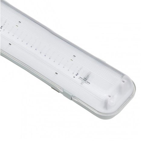 Pantalla Estanca para dos tubos LED 1500 mm