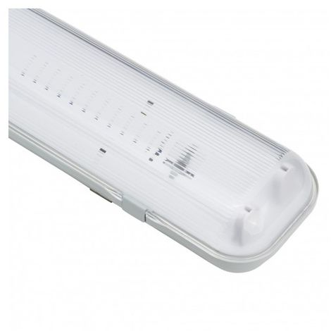 Pantalla Estanca para dos tubos LED 1500 mm (Conexión 1 Lateral) | IluminaShop