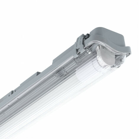 Pantalla Estanca Slim para un Tubo LED 1500mm PC/PC Conexión un Lateral .1500 mm - 1500 mm