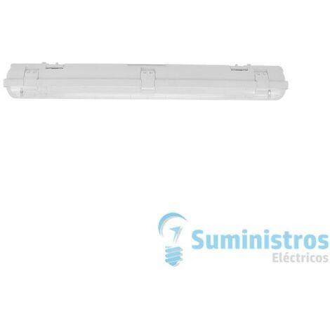 PANTALLA ESTC.TUB.LED IP65 1x12W 230V GR