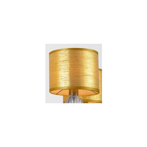 81fa59242616 PANTALLA FANCY ORO LAMP 2797 3-5 16x13 E14 (C120 D033)