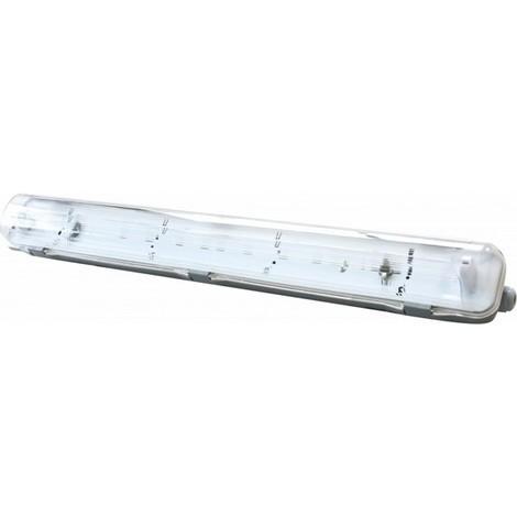 Pantalla Fluorescente Estanca Led 2X60 W - SILVER - 372060