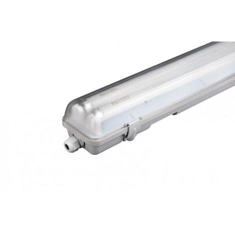 Pantalla Iluminacion 1X9W Estanca Pvc Electrificada Tubo Led