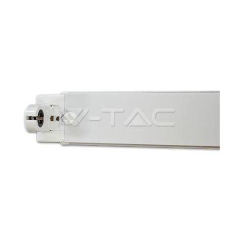Pantalla IP20 porta tubos LED T8