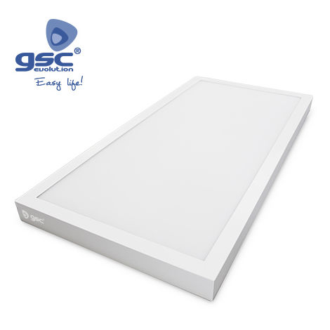 Pantalla LED de superficie blanca para cocina