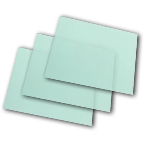 Pantallas de repuesto STAHLWERK para cascos de soldador completamente automático ST-450R & ST-450RC, transparente, conjunto de 3