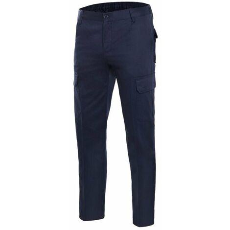 Pantalón 100% algodón multibolsillos