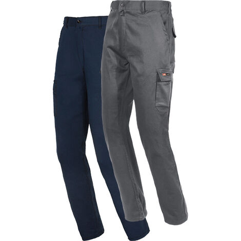 Pantalon Algodon Stretch Azul Xxxl - STARTER - 8038B