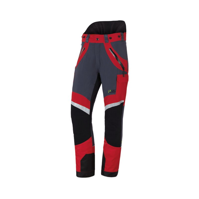 Pantalon anti-coupures X-treme Light, le plus léger, taille EU 60/ FR 54 - Rouge/gris