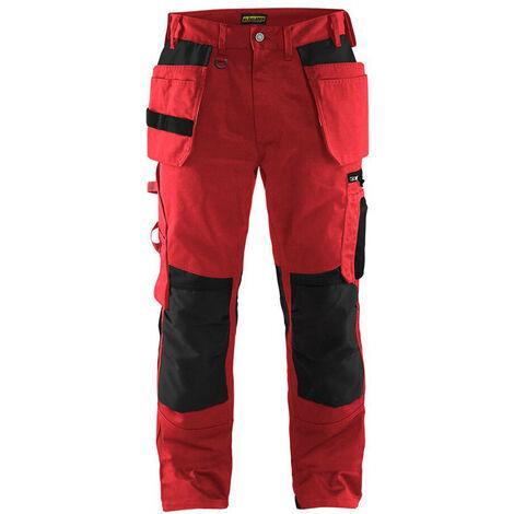 Pantalon artisan - 5699 Rouge/Noir - Blaklader