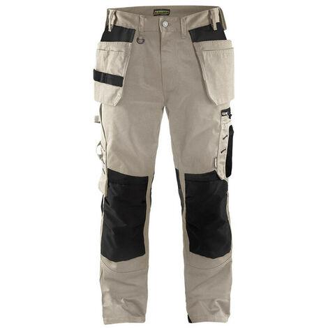 Pantalon artisan bas amovibles Noir 1538 Blaklader