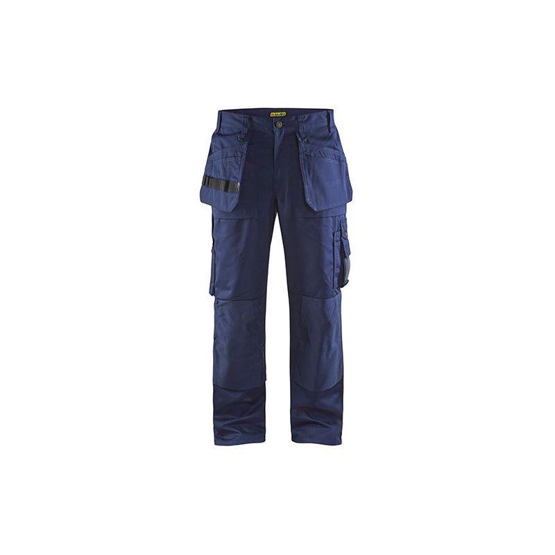 Pantalon artisan - 8900 Marine taille: 48L - couleur: Bleu marine - Blaklader