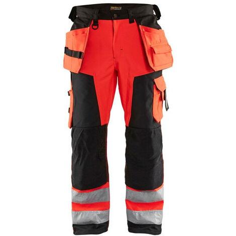 Pantalon Artisan Softshell haute visibilité - Blaklader - 15672517