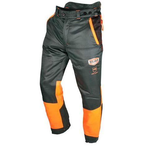 Pantalon AUTHENTIC protection totale 360° special tronçonneuse type C classe 1 - AUPA1C - Solidur