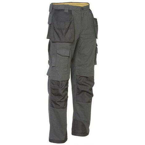 Pantalon avec poches genouilleres Caterpillar TRADEMARK Gris 40