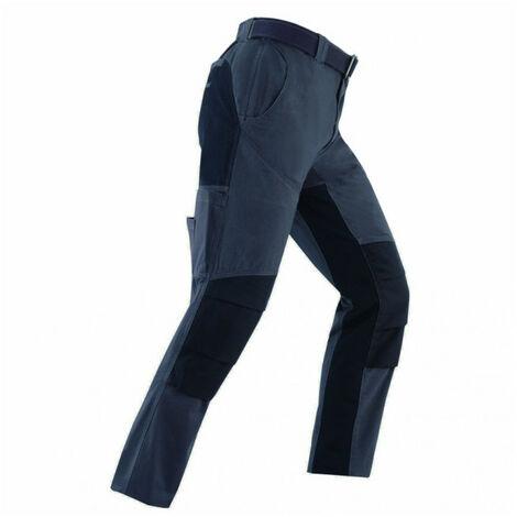 Pantalon avec renforcements NIGER gris-noir KAPRIOL - plusieurs modèles disponibles