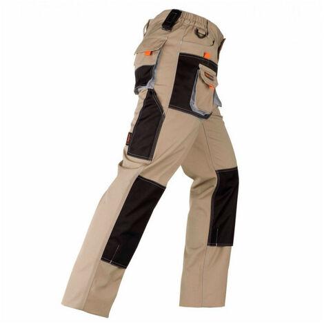 """main image of """"Pantalon avec renforcements SMART beige-noir KAPRIOL - plusieurs modèles disponibles"""""""