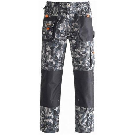 Pantalon avec renforcements SMART camouflage gris KAPRIOL - plusieurs modèles disponibles