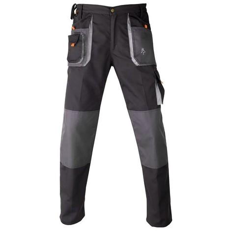 Kapriol - pantalon de travail smart noir gris - Taille: T3/L